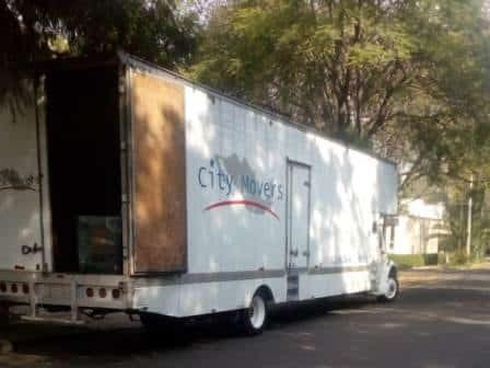 Camion de 80 metros cubicos